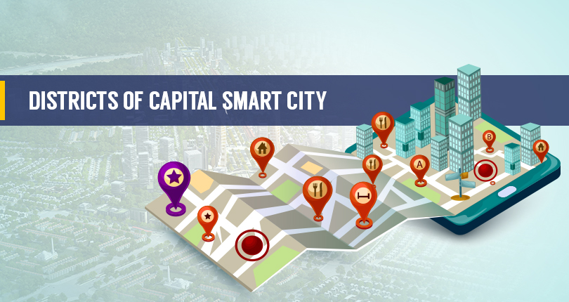 Districts of Capital Smart City