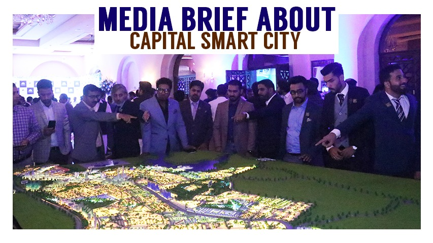 Media Brief About Capital Smart City