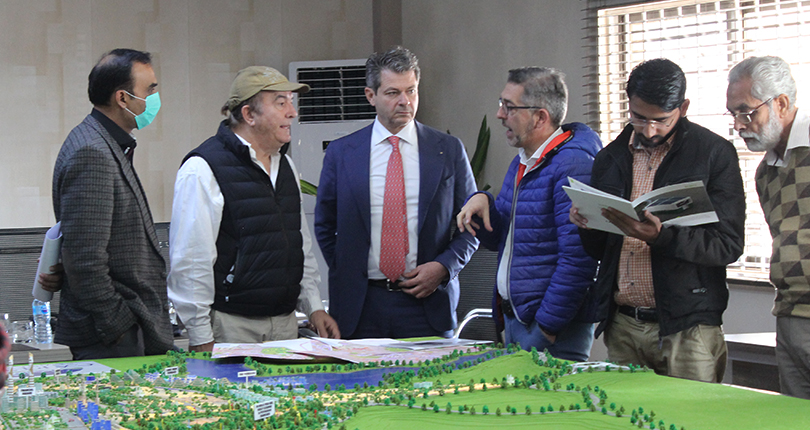 Plot Selection in Capital Smart City Started