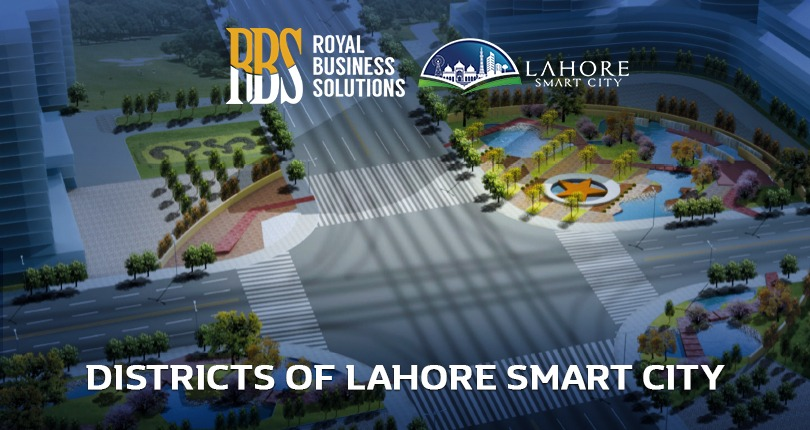Districts of Lahore Smart City