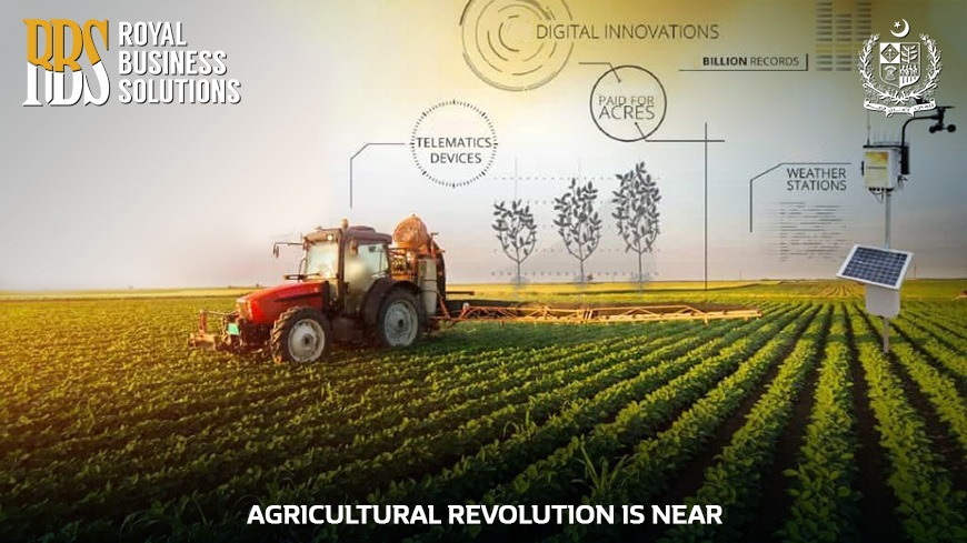 Agriculture Revolution is Near