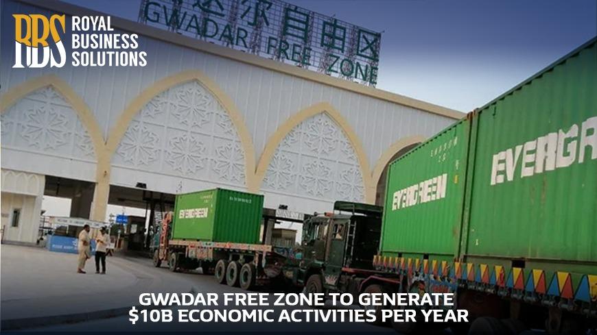 Gwadar Free Zone To Generate $10B Economic Activity