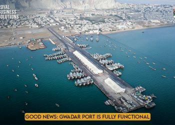 Good News Gwadar Port is Fully Functional
