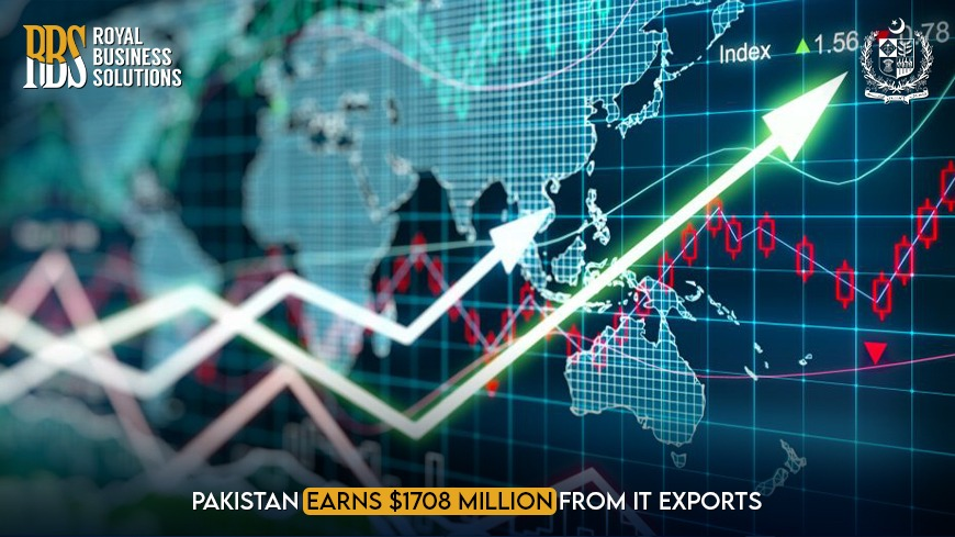 Pakistan Earns $1708 Million From IT Exports