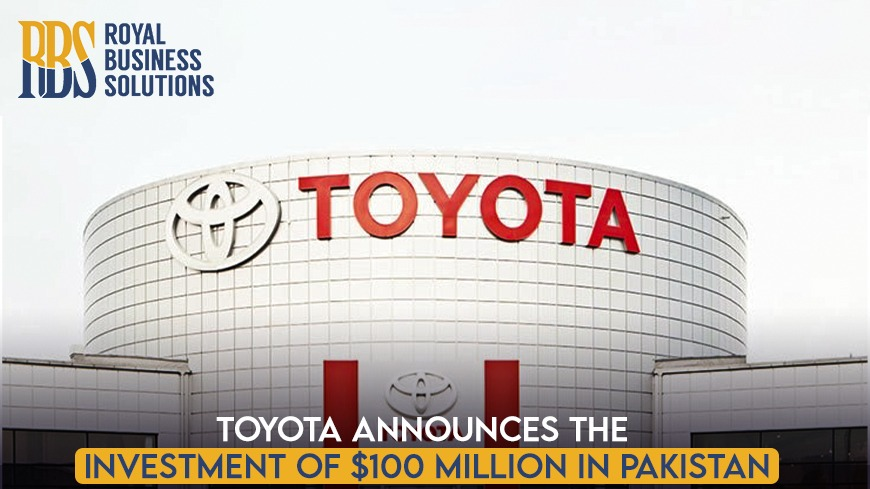 Toyota Announces the investment of $100 Million in Pakistan