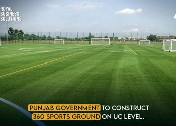 Punjab Government to Construct 360 Sports Grounds