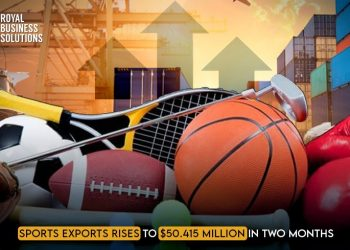 Sports Exports Rises to $50.415 Million in Two Months
